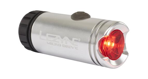Lezyne Micro Drive Rücklicht silber
